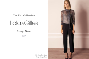 New! Fall.19 Lola&Gilles Premium Collection