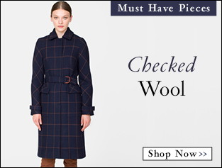 Shop Checked Wool >>