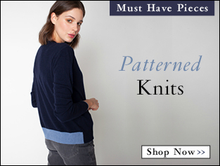 Shop Patterned Knits >>