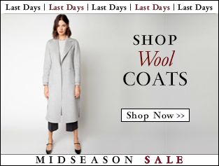 Shop Wool COATS >>