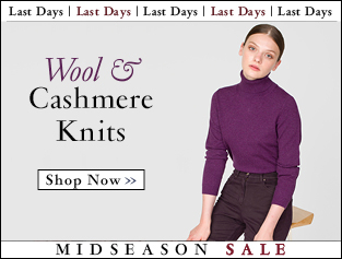 Shop Wool & Cashmere Knits >>