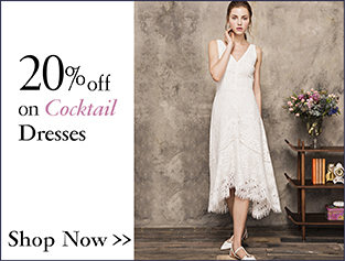 20% off on Cocktail Dresses