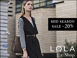 Mid Season SALE -20% on all items