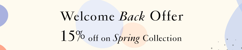 Welcome Back Offer