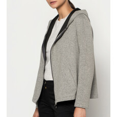 Jacket Two Tone Double Jersey