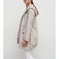 Trench Coat σε Αδιάβροχο Ύφασμα