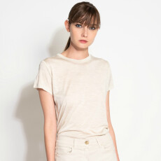 Pure Silk Jersey T-Shirt