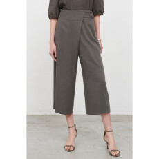 Pleated Jupe Culottes