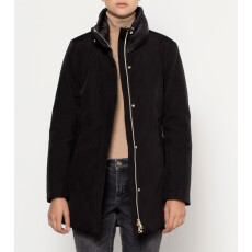 Jacket with Qulilted Details